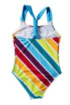 Baju Renang Bayi Perempuan Multi Stripe One Piece