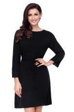 Musta Off Shoulder Knit Sweater mekko