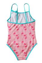 Balita Gadis Flamingo Cetak Pakaian Renang One-piece