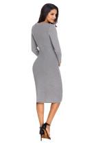 Šaty dámské ručně pletený svetr