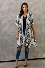 Černá Prowess Pom Pom Kimono