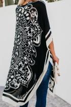 Černý Tokiový medailon Kimono
