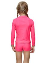 Rosy Long Sleeve Rash Guard untuk Gadis Kecil