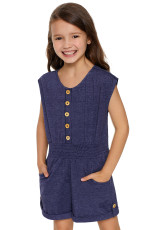 Mavi Küçük Kızlar Cassie Romper