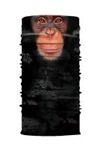 Baboon Print Kolarstwo Motocyklowy szalik na szyję, cieplejsza maska na twarz