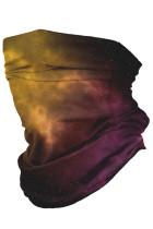 Rouge nébuleuse multifonctionnel couvre-chef masque facial bandeau cou guêtre