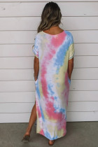Tie Dye Maxi -mekko