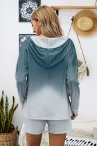 Sininen Dip Dye -huppari Lounge-puserohousut