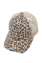 Keltainen leopardi painettu korkki