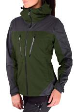 Grønn Silence Proshell-jakke