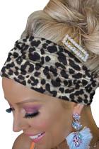 هدبند چاپ Black Leopard