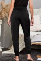 Černé kapesní kalhoty