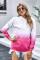 Áo khoác dài tay màu hồng nhạt