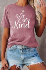 مهربان باشید تی شرت گرافیکی