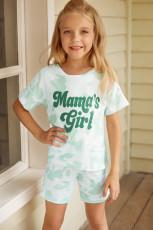 Mamma's girl Tie-dye Print Lounge Set