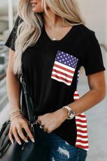 تی شرت چاپ پرچم ایالات متحده آمریکا