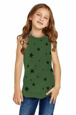 مخزن دختر کوچک چاپ ستاره سبز