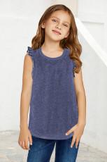 مخزن دختر بچه کوچک آبی