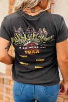 Def Leppard Japan '88 Tour Graphic Tee