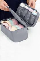 کیف نگهداری لباس زیر سوتین قابل حمل خاکستری
