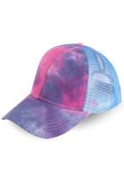 Gulê Ton-dyed Ponytail Back Open Baseball Cap