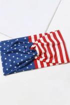 سربند پهن تناسب اندام یوگای ورزشی پرچم آمریکا