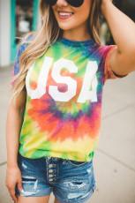 تی شرت Tie Dye Rainbow Vortex