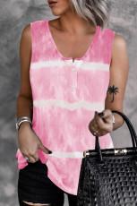Rózsaszín nyakkendő-festék nyomat
