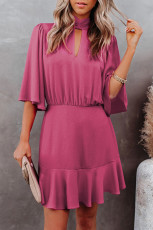 Robe à trou de serrure Rose Fashion Forward