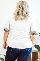 Flitter Leopard Accent Plus méretű póló