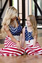 Daughter & Me, egyező amerikai zászlós maxiruha
