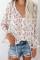 Bluzka z długimi rękawami w kwiatowy wzór