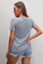 تی شرت خاکستری واقعی MOMS SOFTBALL