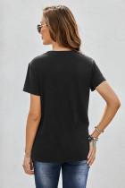 تی شرت چاپ قاصدک گردن Black Crew