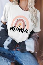 Mama Graphic White Tee