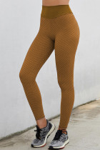 شلوار ساق بلند بدن یوگای بالابر کمر بلند