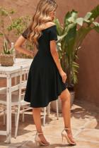 Μαύρο όλο το φόρεμα πασιέντζα