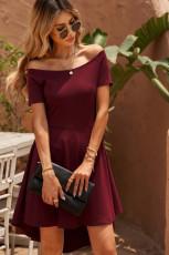 Βουργουνδίας όλο το φόρεμα πανηγυριστών