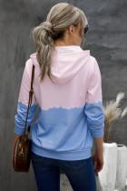 Taivaansininen Dip-Dye Colorblock -nauha, jossa taskut