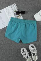 Taivaansininen Thermochromic Sports Casual Shorts