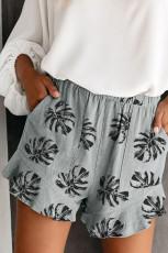 Harmaat palmupuun lehdet, joustavat taskut