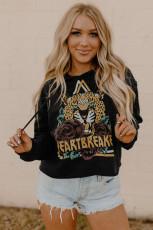 Bluza z kapturem HEARTBREAKER & Rose Animal Graphic