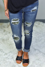 Kamuflaj Yama Skinny Jeans Yok Edildi