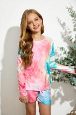 Rose Little Girl Pitkähihainen villapaita ja kiristysnauha