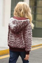 Wine Girls 'Faux Fur Bomber Jacket