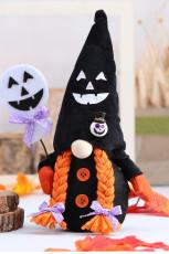 Halloween ansiktslös gnome plysch häxa docka prydnad