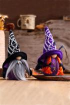 Violetti Halloween Vampire Faceless Doll -koriste