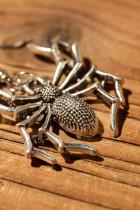 Halloween Alloy Spider korvakorut