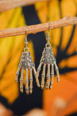 Halloween kallo yhteinen Palm korvakorut
