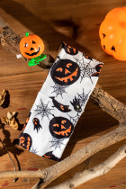 Halloween Skull Spider Web Pumpkin Face -panta
